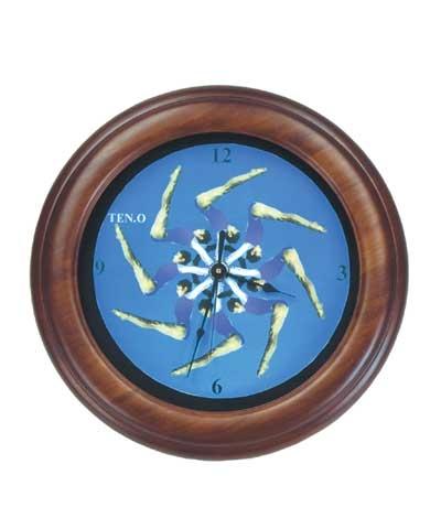 Swinging Through Time Gymnastics Clock