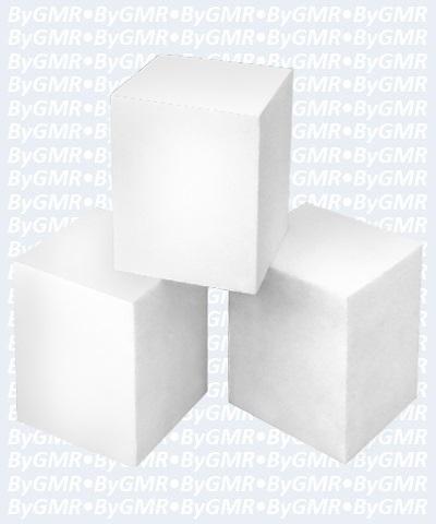 "Foam Spring Block 3""x3""x4"""