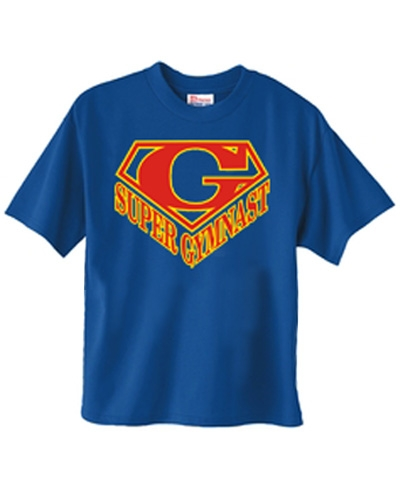 Super Gymnast Tee FREE SHIPPING
