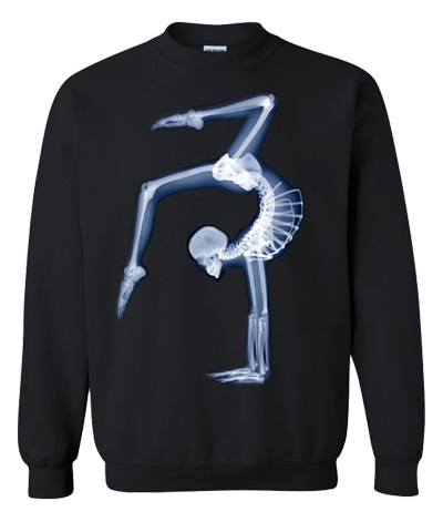X-Ray Black Sweatshirt FREE SHIPPING