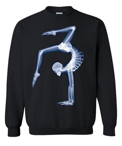 X-Ray Black Sweatshirt FREE SHIPPING