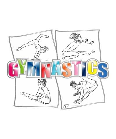 Sketch Gymnasts Pin