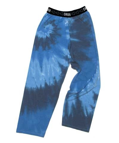 Youth Cheer Blues Tie-dye Jammies FREE SHIPPING