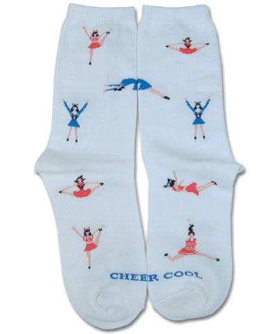 Cheerleader Cheercool Socks FREE SHIPPING