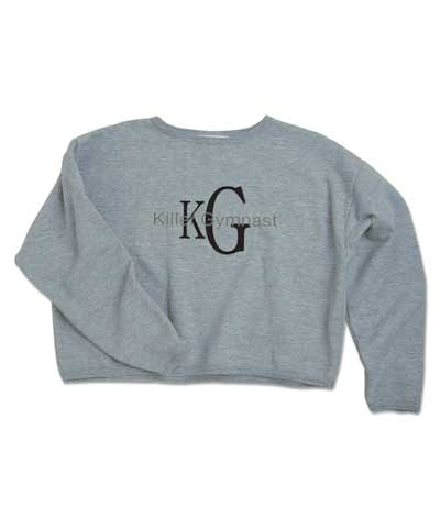 Killer Gymnast Crop Sweatshirt