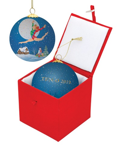 Moonlight Leap Christmas Ball (2019)