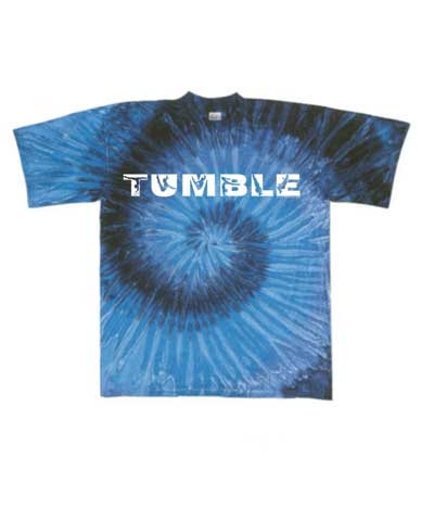 Work Out Blues Tie Dye Tee