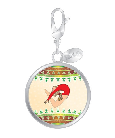 Yuletide Leap Ball Charm