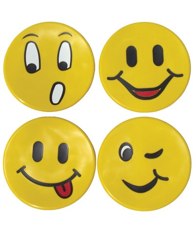 Poly Pad Faces (Set of 4) FREE SHIPPING