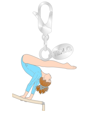 Gym Charm - Inverted Giant Bar FREE SHIPPING