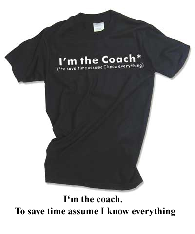 I'm The Coach Tee FREE SHIPPING