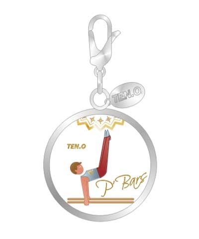 Boys P-Bars Event Ball Charm