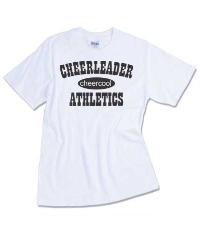 Cheerleader Athletics Tee FREE SHIPPING