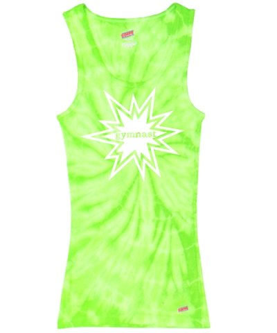 Citrus Spider Gymnast Tank Top