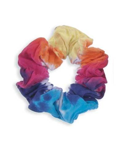 Kaleidoscope Tie Dye Scrunchie Ten O Bygmr