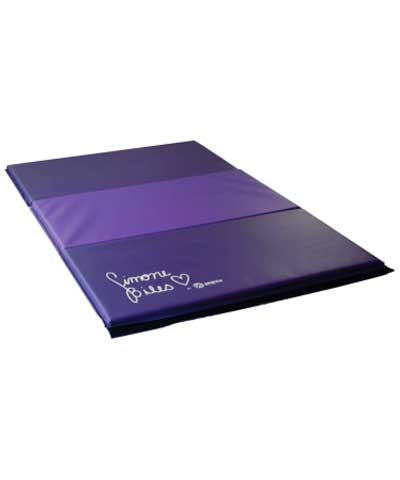 "Simone Biles  4'x6'x1-3/8"" Two Tone Purple Tumbling Mat"