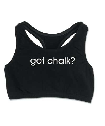 Got Chalk T-Back FREE SHIPPING