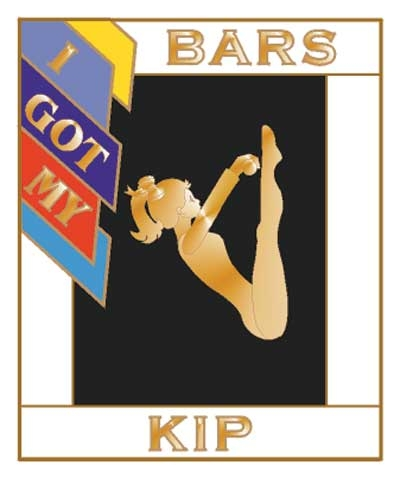 I Got My Kip Bars Pin