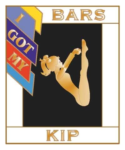 I Got My Kip Bars Pin
