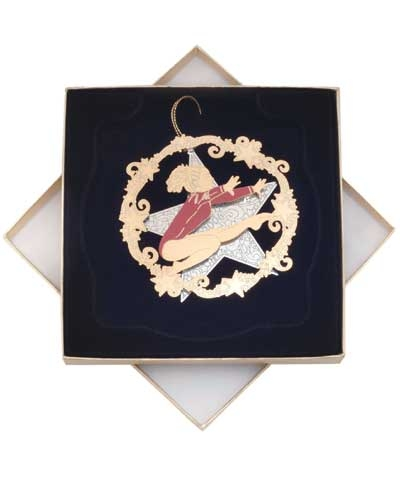 """Star Leap"" Christmas Ornament"