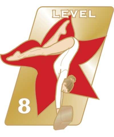 USAG Level 8 Pin