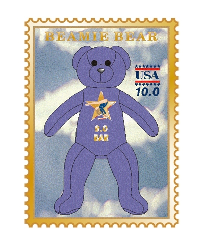 9.0 Bars Beamie Bear Pin