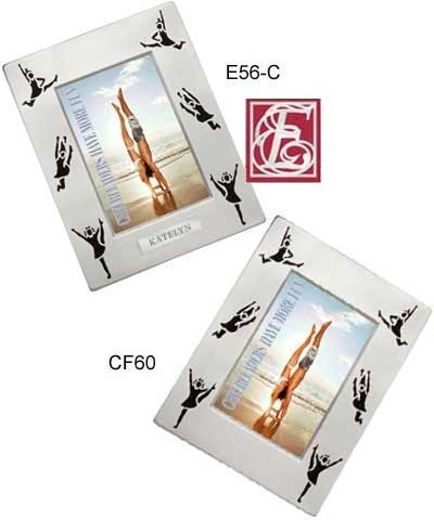 Cheer Silhouette Picture Frame