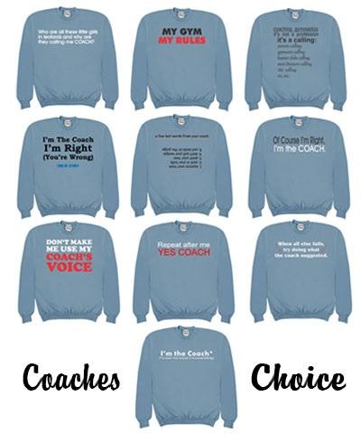Customized Coach Sweatshirt FREE SHIPPING