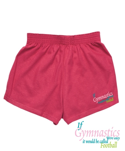 Fuchsia Gym Football Shorts