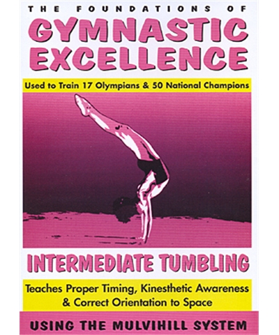 Gymnastics Excellence Vol.3: Intermediate Tumbling (VHS)