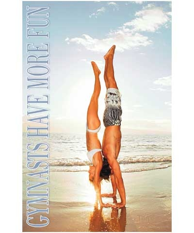 Gymnastics Have More Fun Poster