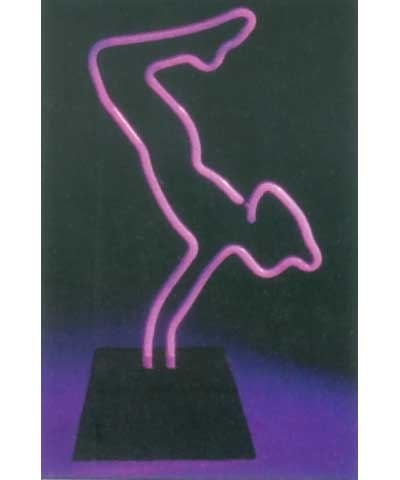 Planche Neon Sculpture