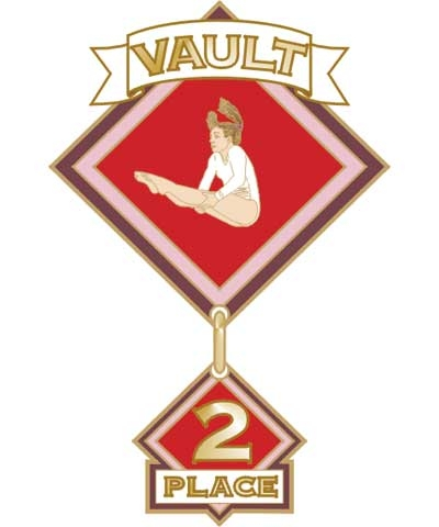 Vault 2nd Place Pin