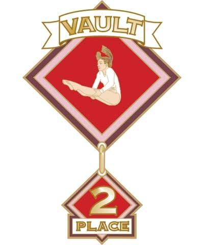 Vault 2nd Place Pin