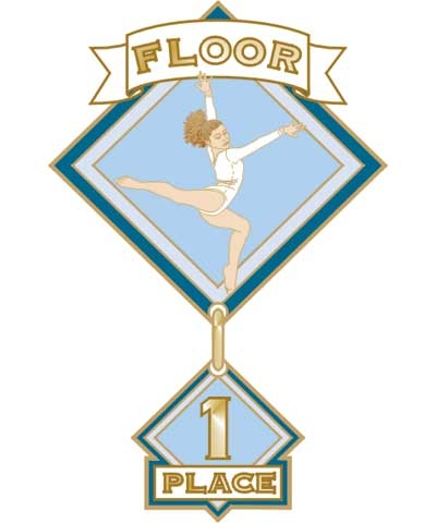 Floor 1st Place Pin