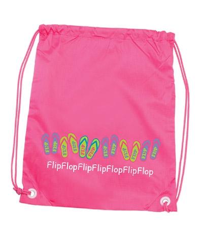 Pink Flip Flop Back Pack