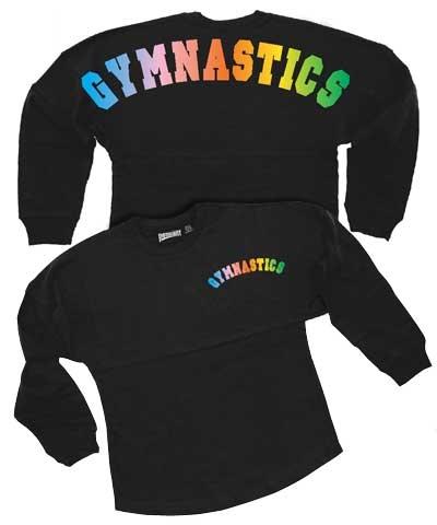 Youth Color Melt Gymnastics Billboard Shirt FREE SHIPPING
