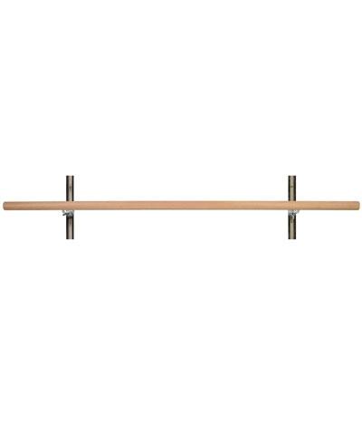 6 ft Single Adjustable Wall Mount Barre