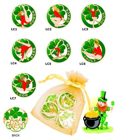 Lucky Coin (Set of 7 & Bag)