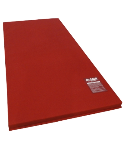 "Red Denim Throw Sting Mat 42""X79""X2"""