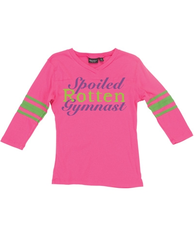 Spoiled Rotten Gymnast Jersey FREE SHIPPING