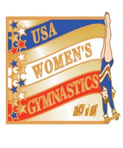 USA Women's Gymnastics Pin