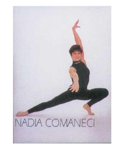 Nadia Comaneci Poster