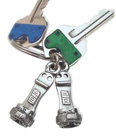 Pewter Key Chain