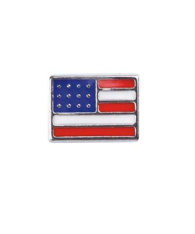 USA Flag Floating Charm