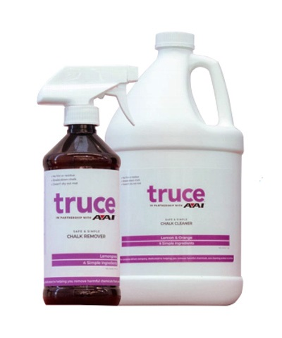 AAI® Truce Mat Chalk Remover - One gallon and Spray Bottle