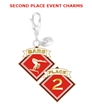 Gym Charm - 2nd Place Bar FREE SHIPPING