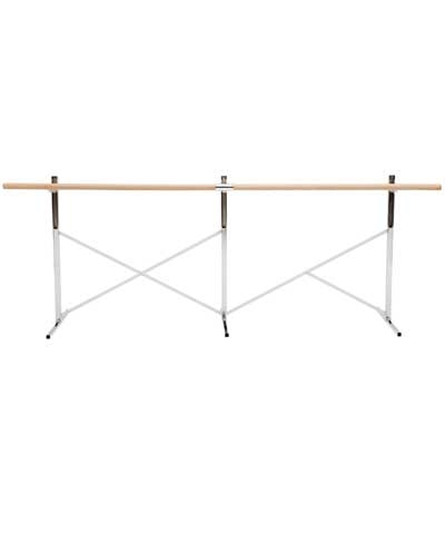 10' Free Standing Ballet Barre with 1 Bar