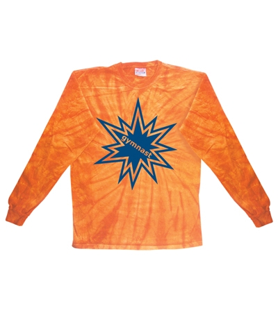 Orange Spider Long Sleeve Tee