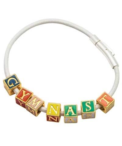 Gymnast Block Bracelet